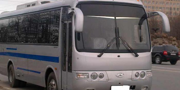 Автобус Хендей Аэротаун в аренду фото