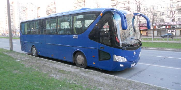 Автобус Ютонг в аренду фото