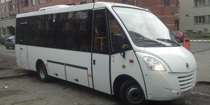 Фотография автобуса Неман для аренды с водителем в СПб