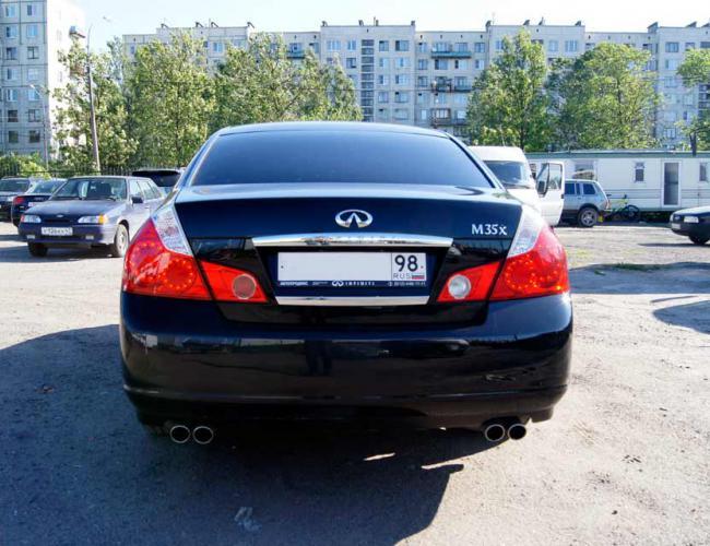 Автомобиль Инфинити в аренду в СПб фото 3