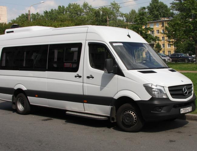 Микроавтобус Мерседес Спринтер 2014 г.в. в аренду